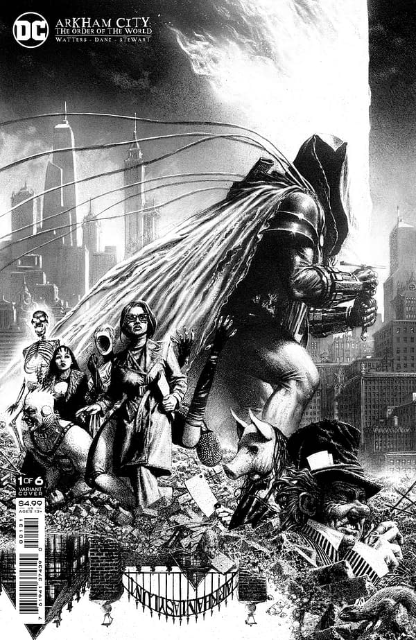 Coffin Bound Creators Show Us How Gotham Has Become The Arkham City