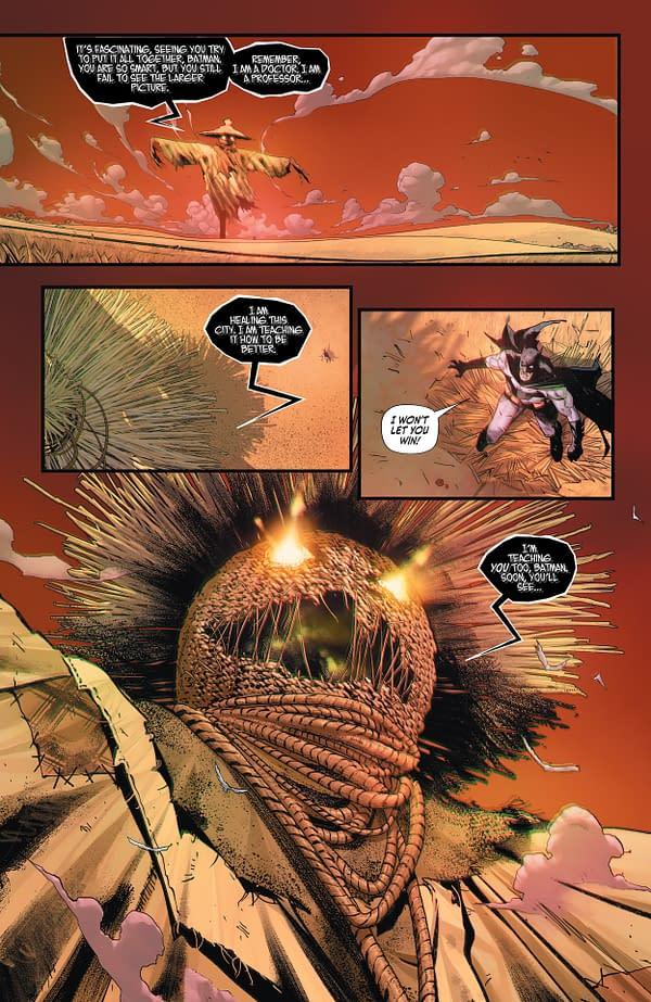 Interior preview page from BATMAN #111 CVR A JORGE JIMENEZ