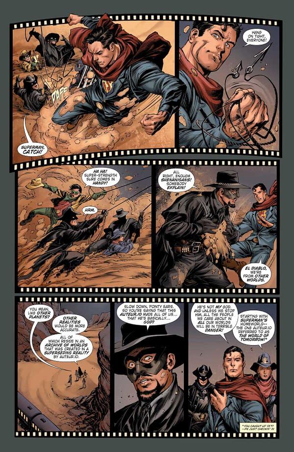 Interior preview page from BATMAN SUPERMAN #20 CVR A IVAN REIS & DANNY MIKI