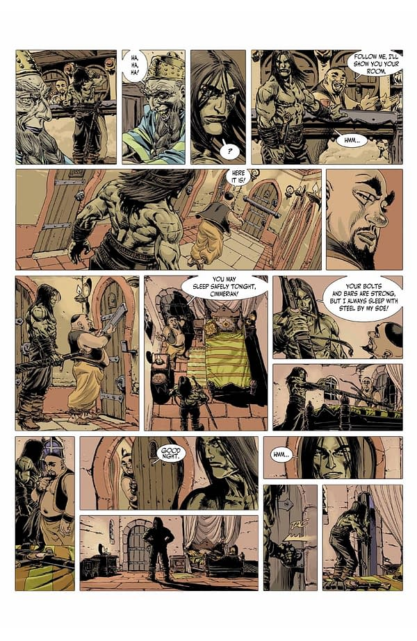 The Cimmerian: ABLAZE Announces 3 New Titles of Hit Barbarian Series