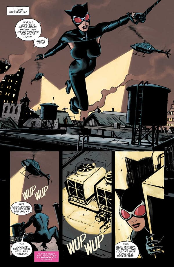 Interior preview page from CATWOMAN #33 CVR A YANICK PAQUETTE
