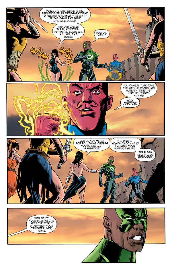 Interior preview page from CRIME SYNDICATE #6 (OF 6) CVR A HOWARD PORTER