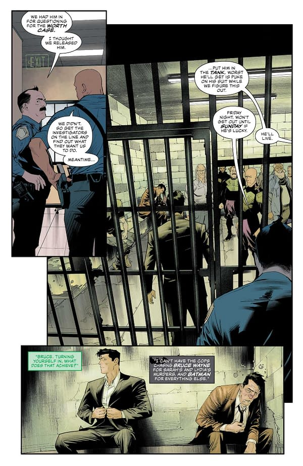 Interior preview page from DETECTIVE COMICS #1040 CVR A DAN MORA