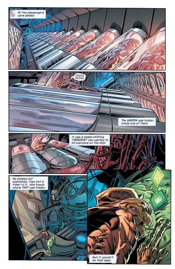 Interior preview page from ICON & ROCKET SEASON ONE #1 (OF 6) CVR A TAURIN CLARKE