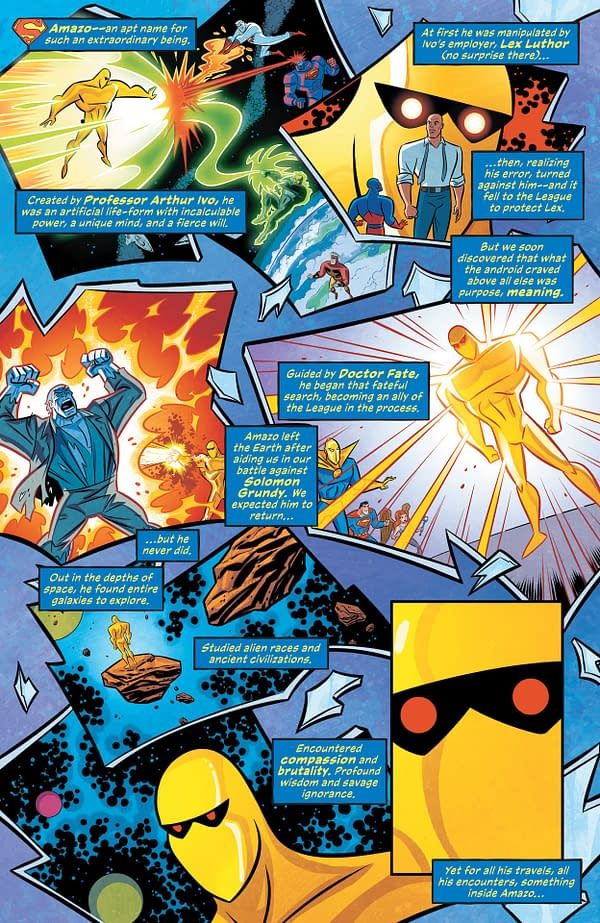 Interior preview page from JUSTICE LEAGUE INFINITY #2 (OF 7)
