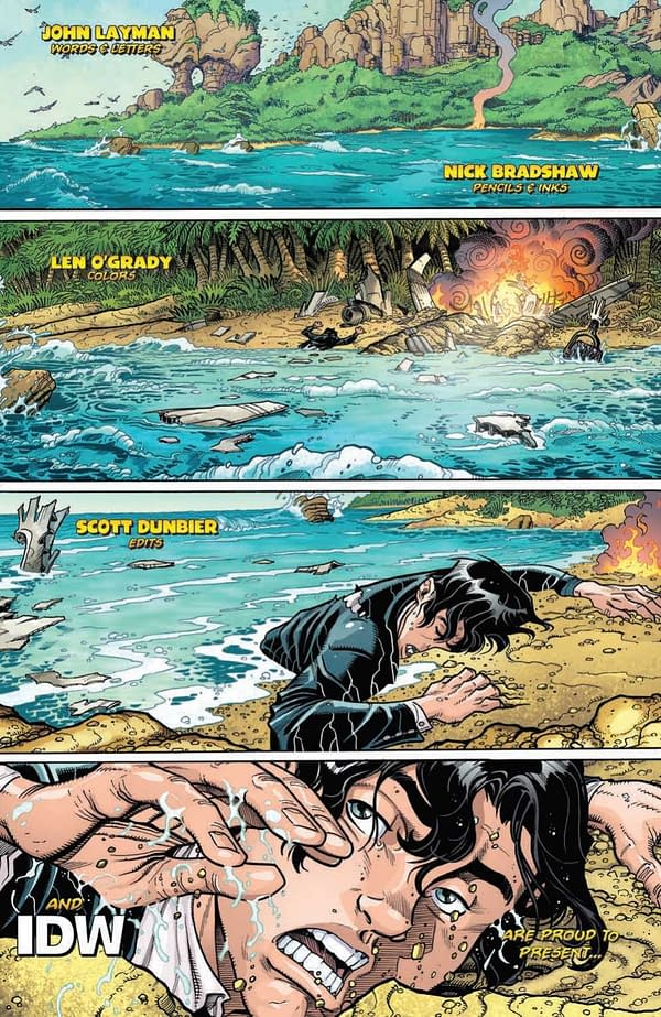Interior preview page from BERMUDA #1 (OF 4) CVR A BRADSHAW (RES)