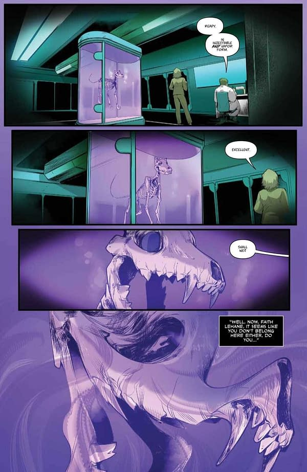 Interior preview page from BUFFY THE VAMPIRE SLAYER #28 CVR A FRANY