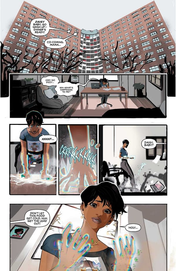 Interior preview page from STATIC SEASON ONE #2 (OF 6) CVR A KHARY RANDOLPH