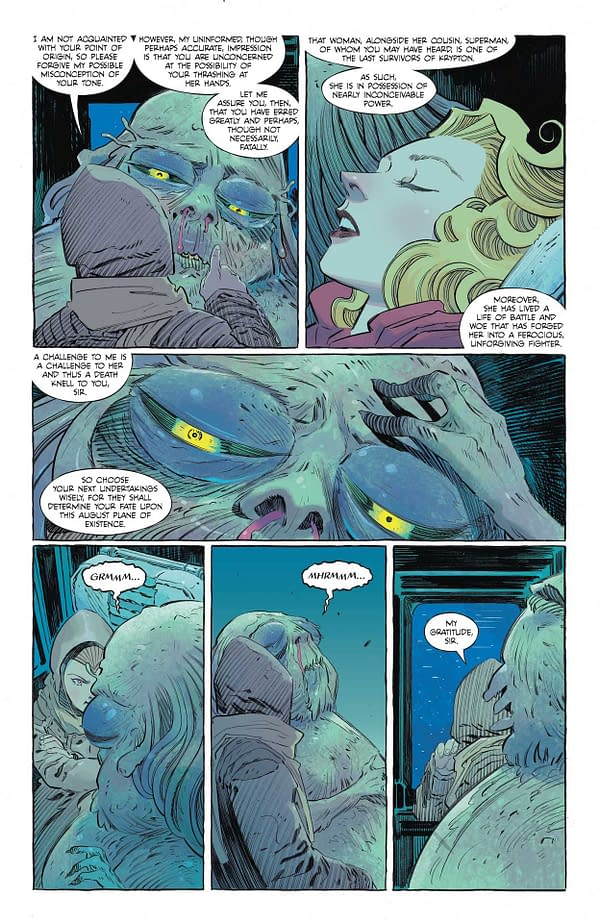 Interior preview page from SUPERGIRL WOMAN OF TOMORROW #2 (OF 8) CVR A BILQUIS EVELY