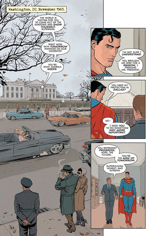 Interior preview page from SUPERMAN AND THE AUTHORITY #1 (OF 4) CVR A MIKEL JANIN