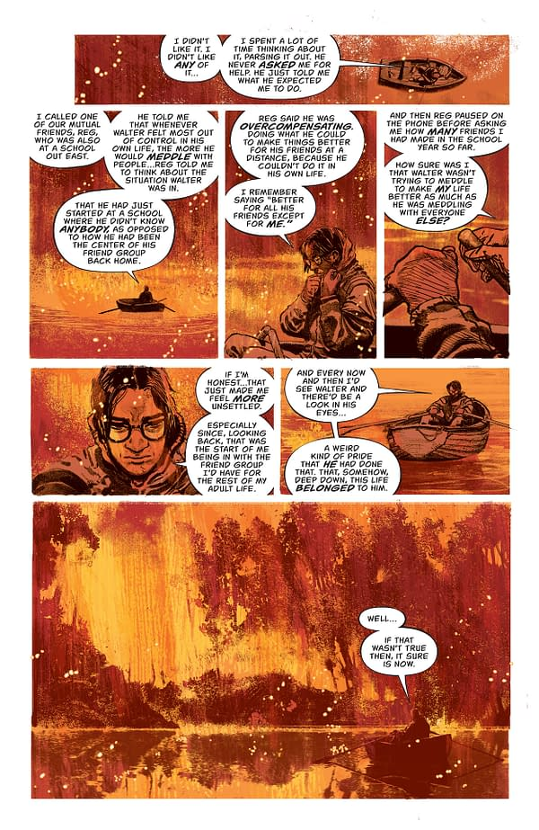 Interior preview page from NICE HOUSE ON THE LAKE #3 (OF 12) CVR A ALVARO MARTINEZ BUENO (MR)