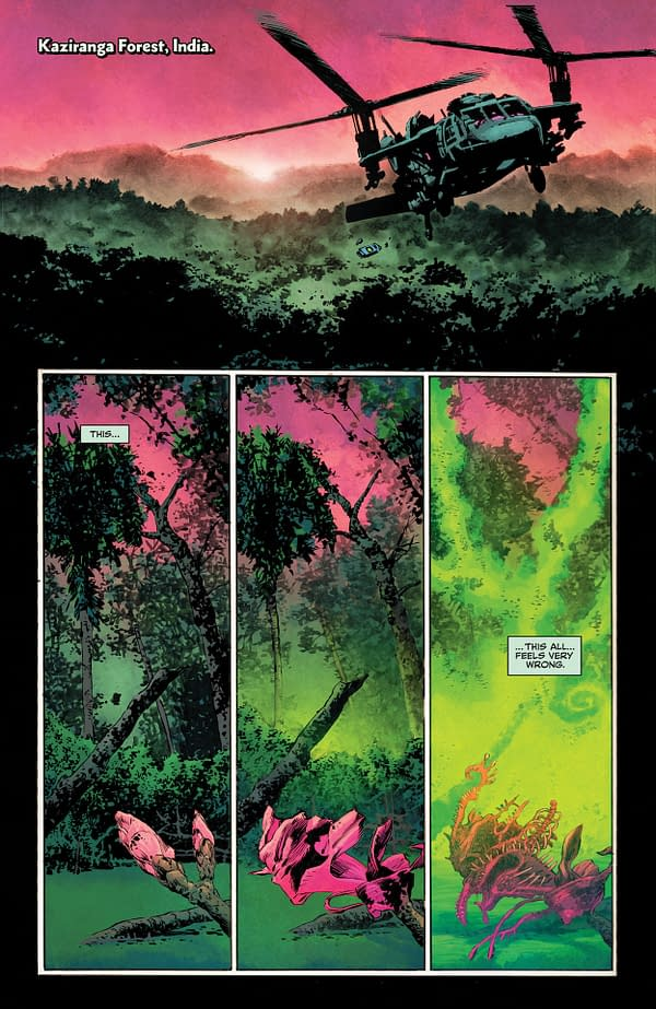 Interior preview page from SWAMP THING #6 (OF 10) CVR A MIKE PERKINS