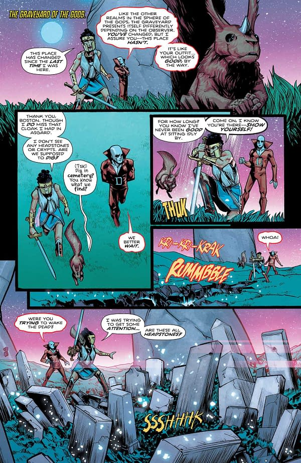 Interior preview page from WONDER WOMAN #775 CVR A TRAVIS MOORE