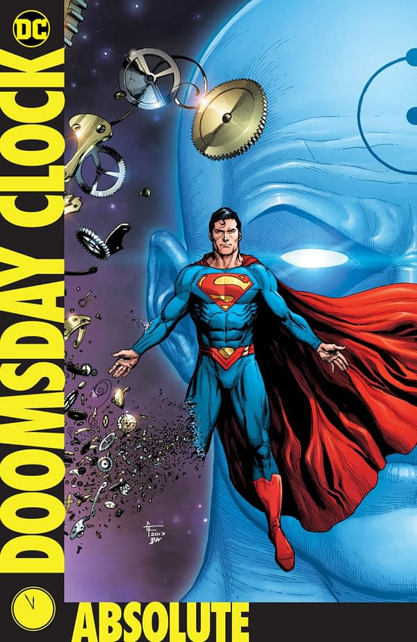 DC Comics puts apocalyptic clock and metal in absolute format
