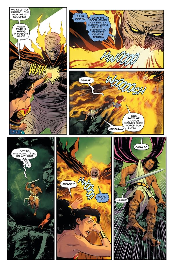 Interior preview page from WONDER WOMAN #778 CVR A TRAVIS MOORE