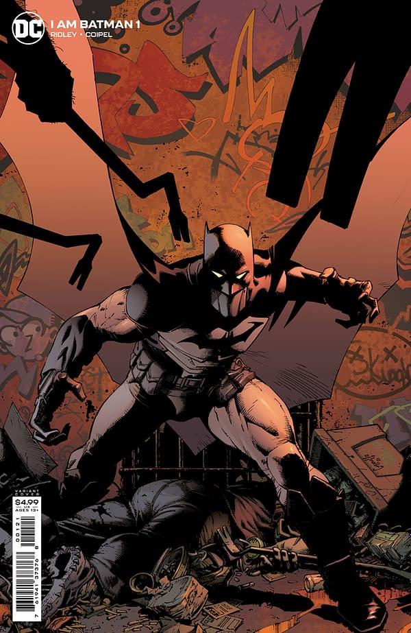 Cover image for I AM BATMAN #1 CVR B GREG CAPULLO CARD STOCK VAR