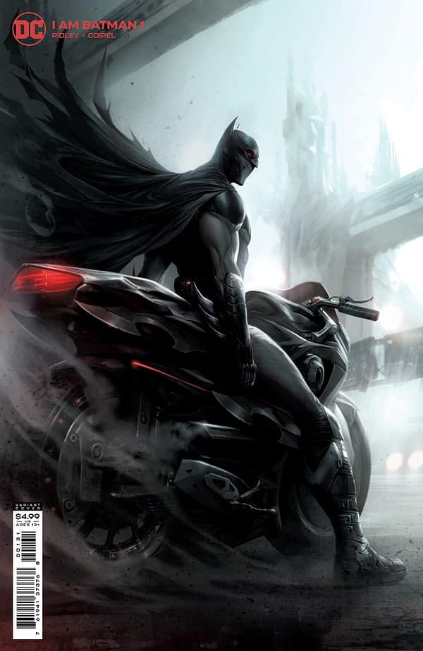 Cover image for I AM BATMAN #1 CVR C FRANCESCO MATTINA CARD STOCK VAR