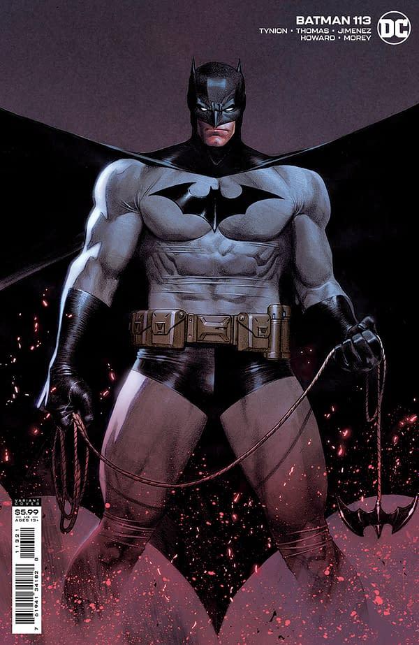 Cover image for BATMAN #113 CVR B JORGE MOLINA CARD STOCK VAR (FEAR STATE)