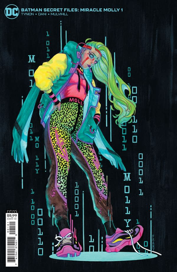 Cover image for BATMAN SECRET FILES MIRACLE MOLLY #1 (ONE SHOT) CVR B JUSTINE FRANY CARD STOCK VAR (FEAR STATE)