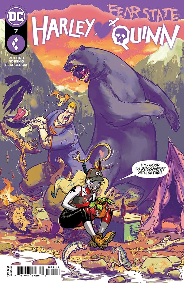 Cover image for HARLEY QUINN #7 CVR A RILEY ROSSMO (FEAR STATE)
