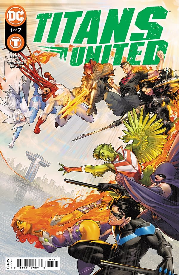 Cover image for TITANS UNITED #1 (OF 7) CVR A JAMAL CAMPBELL