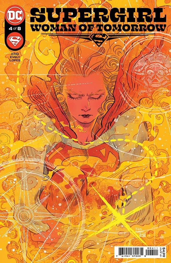 Cover image for SUPERGIRL WOMAN OF TOMORROW #4 (OF 8) CVR A BILQUIS EVELY