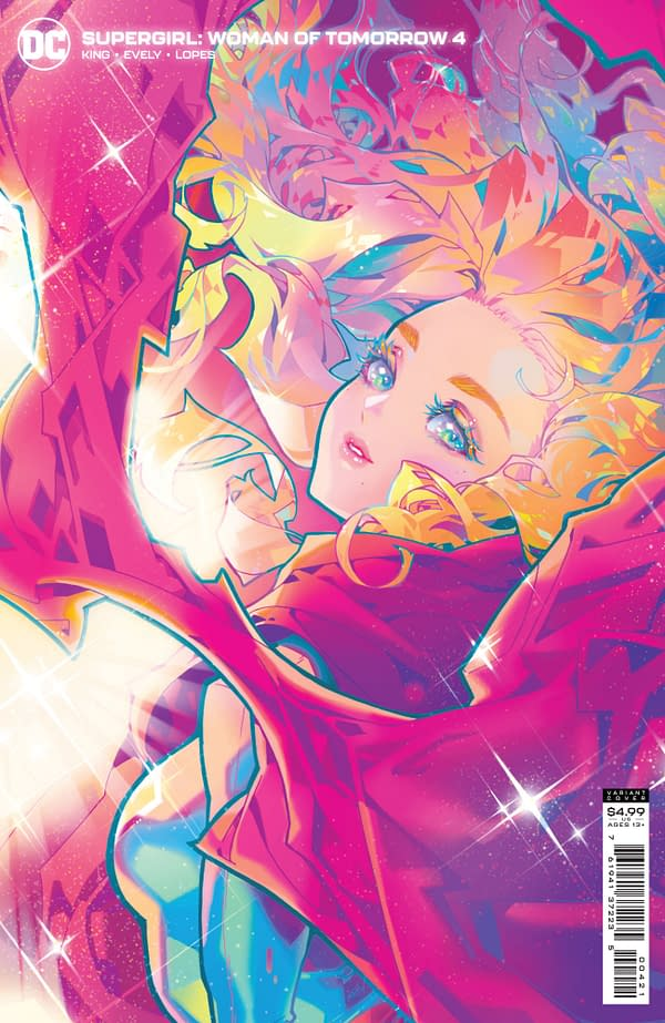 Cover image for SUPERGIRL WOMAN OF TOMORROW #4 (OF 8) CVR B ROSE BESCH VAR