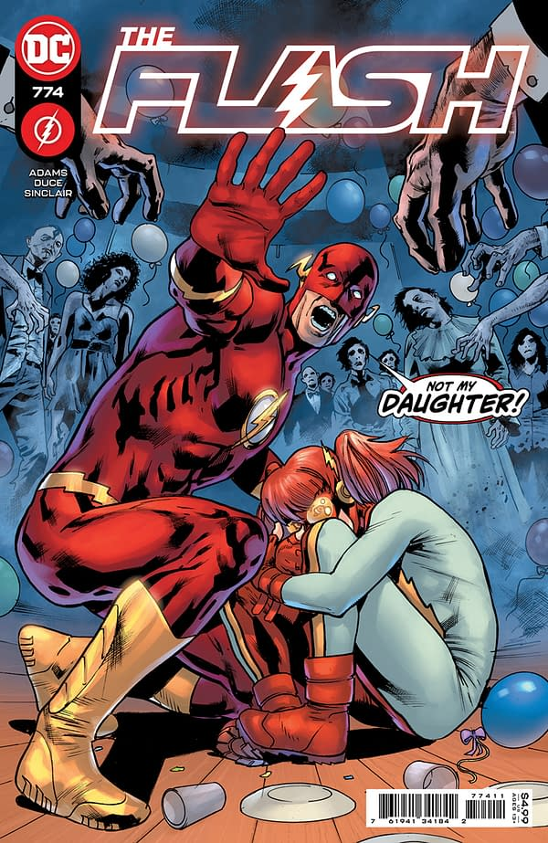 Cover image for FLASH #774 CVR A BRYAN HITCH