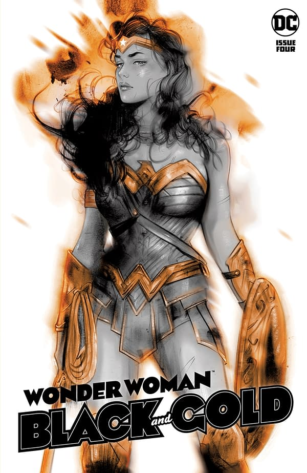 Cover image for WONDER WOMAN BLACK & GOLD #4 (OF 6) CVR A TULA LOTAY