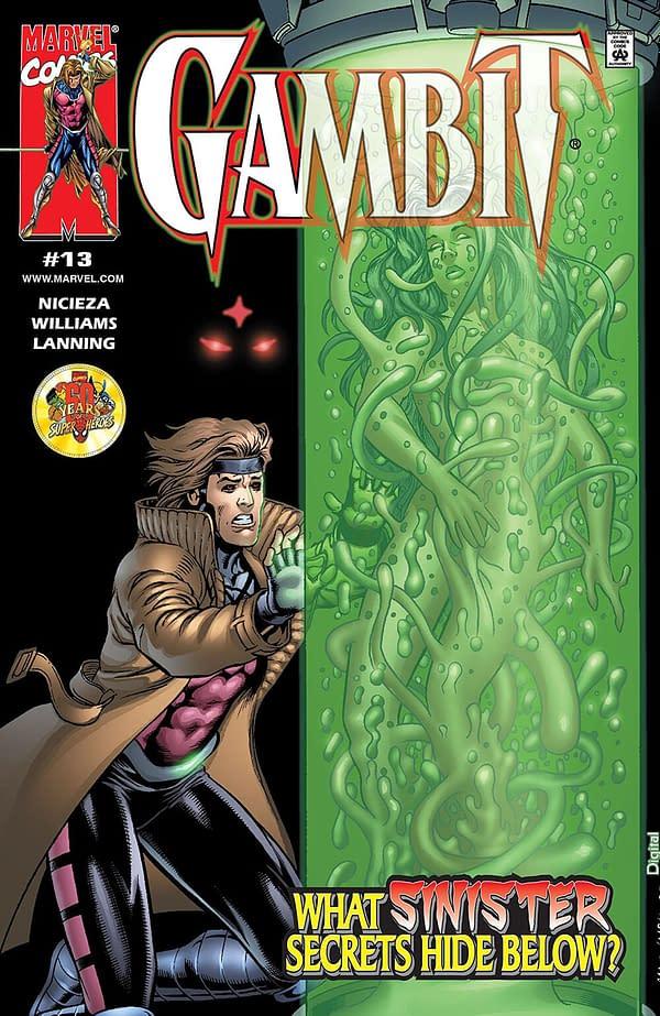 Gambit Volume 3 #13 Cover