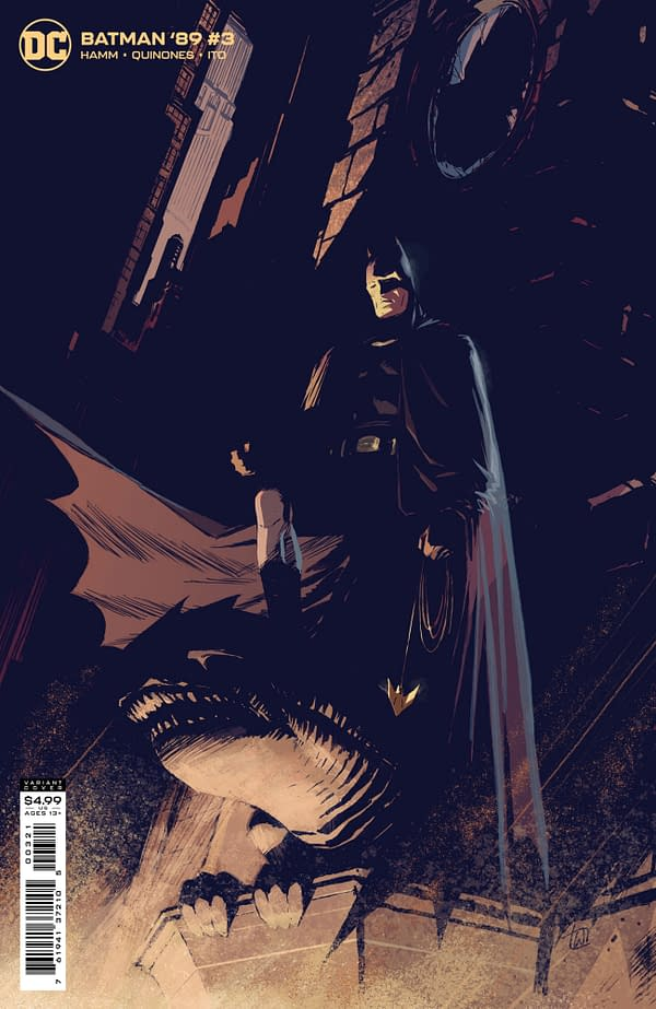 Cover image for BATMAN 89 #3 (OF 6) CVR B LEE WEEKS CARD STOCK VAR