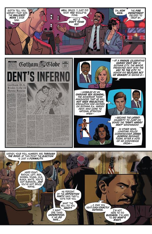 Interior preview page from BATMAN 89 #3 (OF 6) CVR A JOE QUINONES