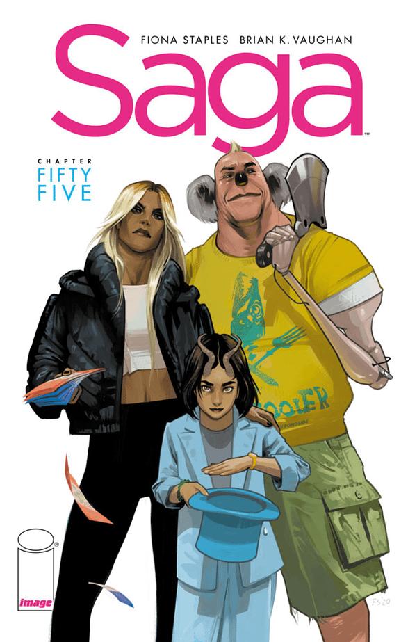 Brian K Vaughan Announces Return of Saga in January 2022, at NYCC