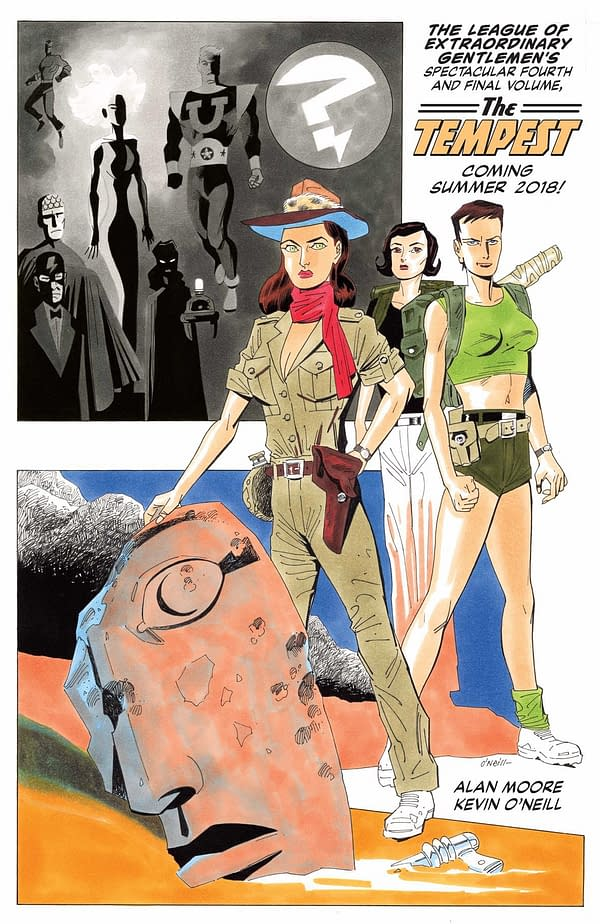 The Tempest – Alan Moore And Kevin O'Neill's Final League Of Extraordinary Gentlemen Announced