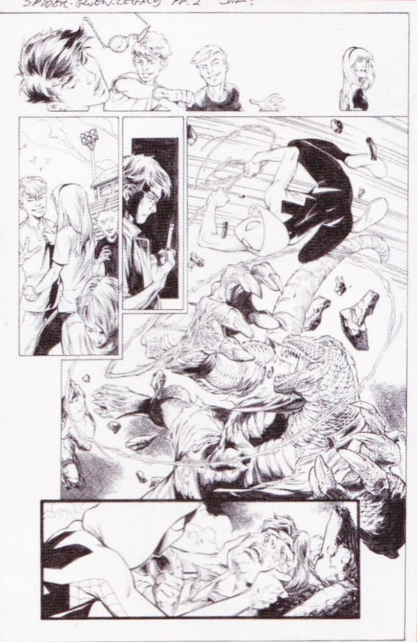 3 Spider-Gwen Marvel Legacy Primer Pages By Robbie Thompson And Mark Bagley