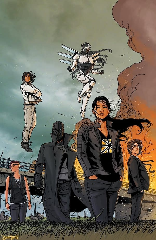 A New Midnighter and Apollo in Today's The Wild Storm #19