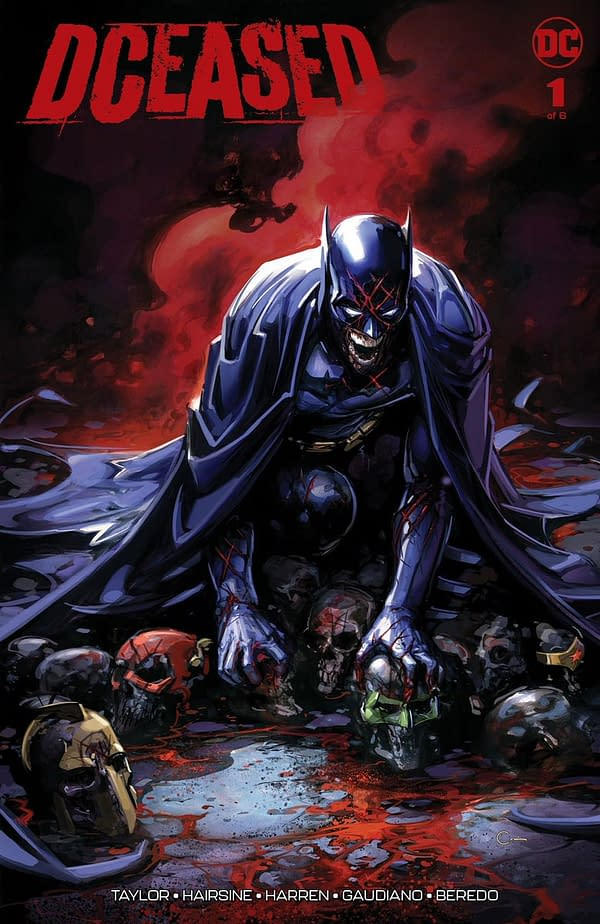Harley Quinn, Batman Zombified for DCeased #1 Variants