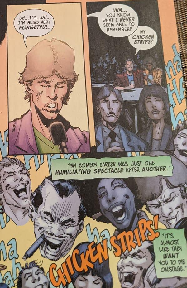 That New DC Comics Origin For The Joker in Walmart Batman Giant #5