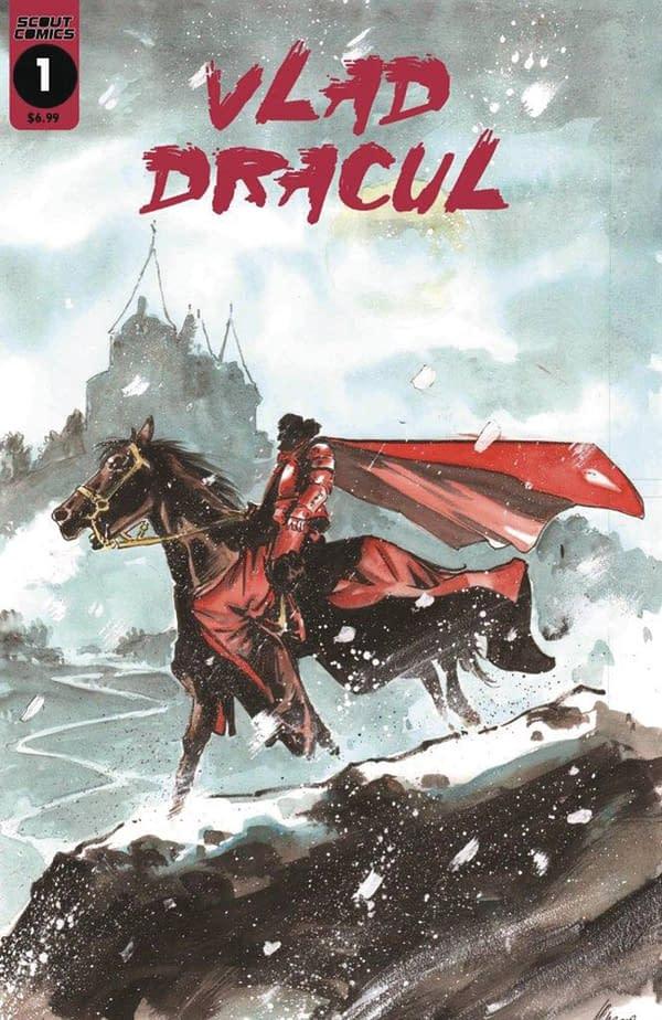Vlad Dracul #1 cover. Credit: Scout Comics.