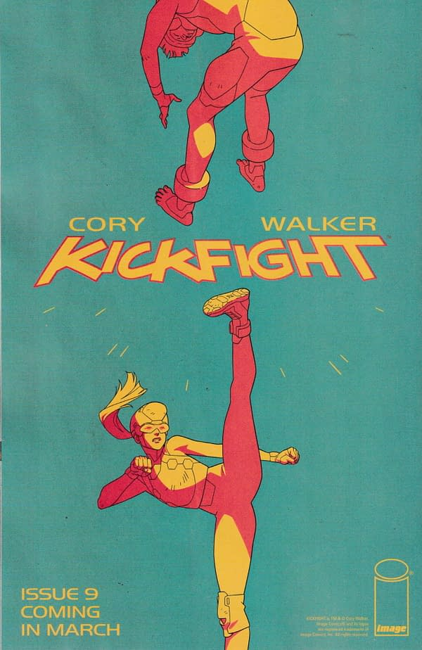 Cory Walker's Kickfight - Another Comic In Solid Blood #17 Universe