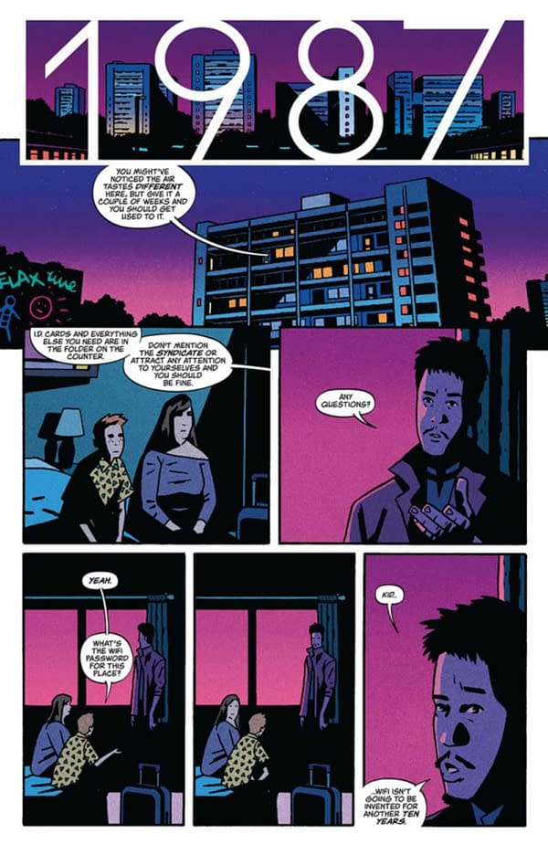 """""""Looper Meets Saga"""" Declan Shalvey Writes Time Before Time From Image"""