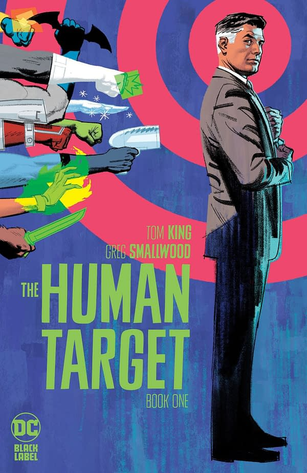 The Human Target From Tom King and Greg Smallwood