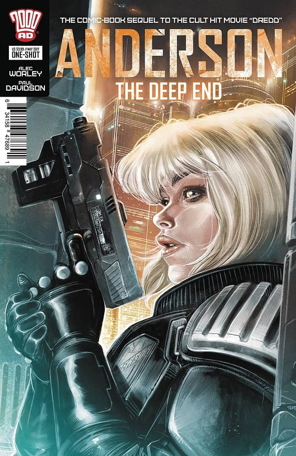 Anderson: The Deep End cover