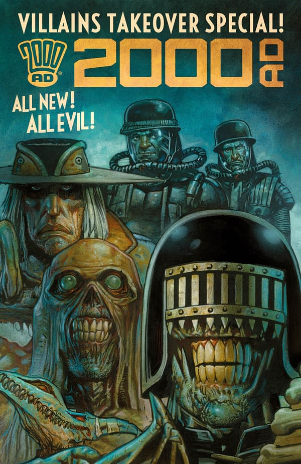 2000AD Will Cheat Free Comic Book Day 2019 with Villains Takeover 99 Cent Special