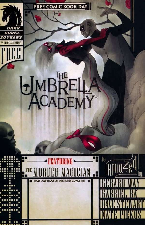 Umbrella Academy Booms On eBay – Especially Free Comic Book Day