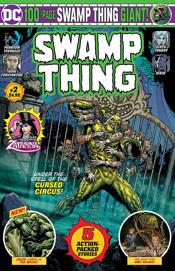New Details on Batman and Swamp Thing DC 100-Page Giants