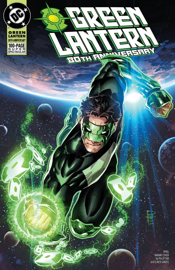 Green Lantern 80th Anniversary Special #1 1990's Variant Cover