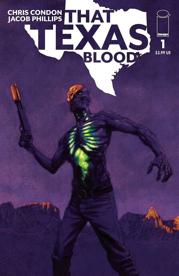 That Texas Blood #1 Cover B