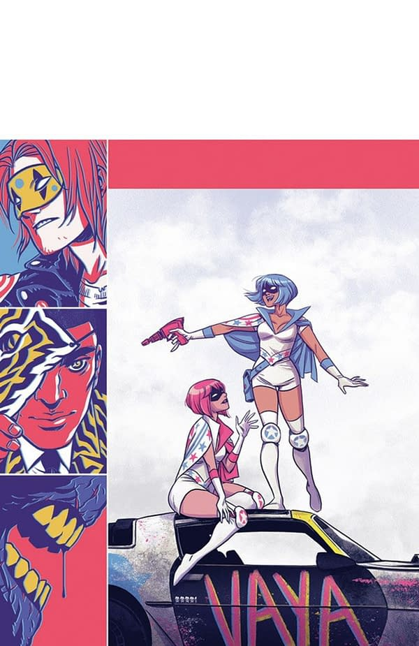 The True Lives of the Fabulous Killjoys: National Anthem #1 cover. Credit: Dark Horse Comics.