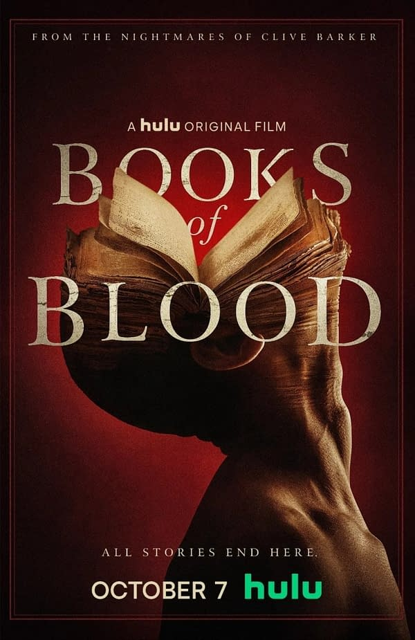 Clive Barker's Books of Blood Movie to Premiere on Hulu in October